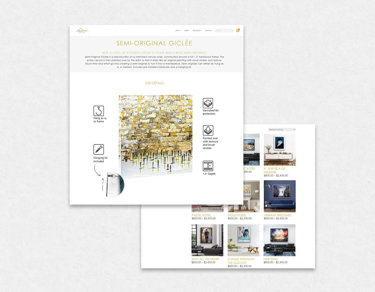 Dynamite Click Web Design Example